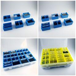 20200425_211436.jpg Télécharger fichier STL gratuit Petites boîtes à compartiments étiquetés • Objet pour impression 3D, 3D_Printing_Athens