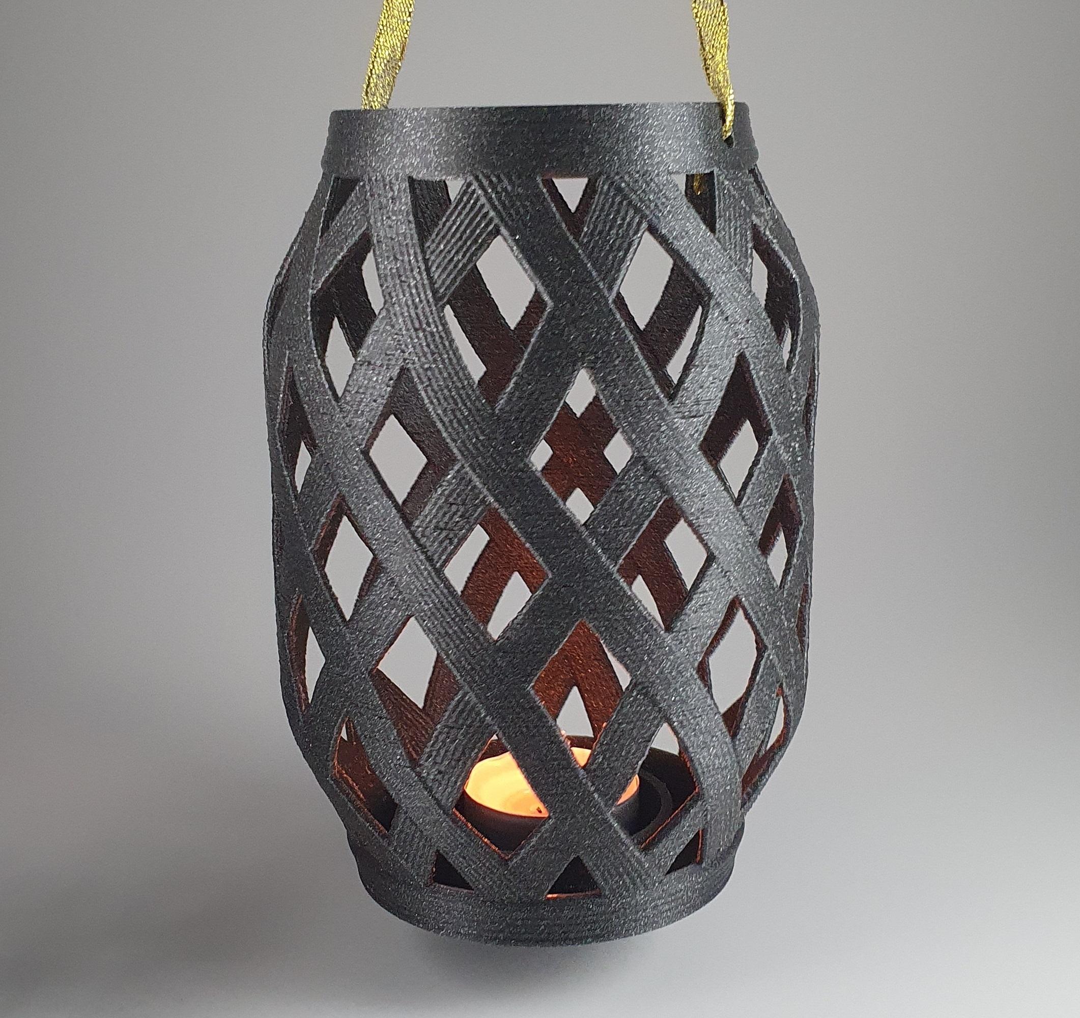 4.jpg Download free STL file Candle Lantern  • 3D printer template, 3D_Printing_Athens