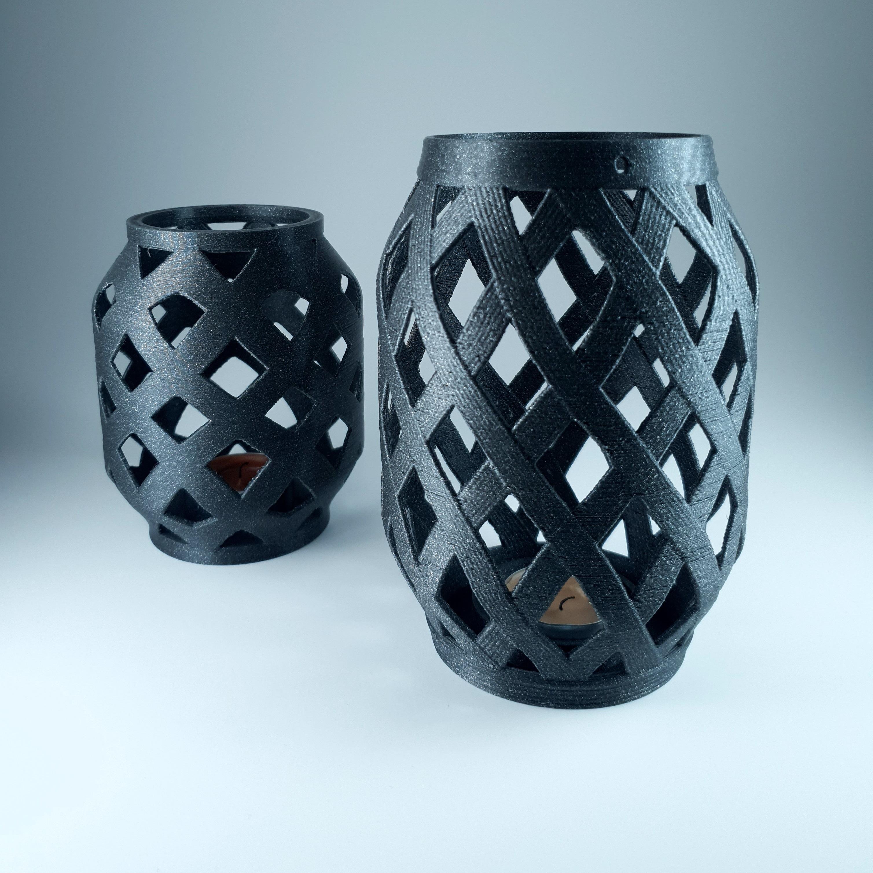 1.jpg Download free STL file Candle Lantern  • 3D printer template, 3D_Printing_Athens