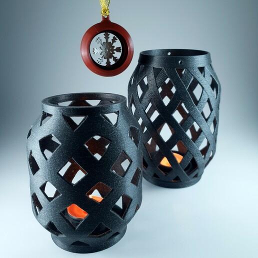2.jpg Download free STL file Candle Lantern  • 3D printer template, 3D_Printing_Athens