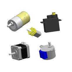 all.jpg Download STL file Motors Popular Set 1 for device housing \ molding \ PCB prototyping • Template to 3D print, Xset