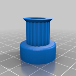 Download free 3D printing models My Customized Parametric pulley - gt2 20, tigorlab