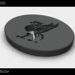 liverpool stl.STL screenshot1.png Download STL file LiverPool logo • Design to 3D print, ahmdmtwly54