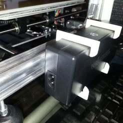 Download free 3D printer files Power Supply holder, Korben