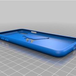 Descargar archivos 3D iphone xs max case con el logo de jordan, codiehallares
