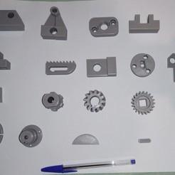 IMG_20200213_205924.jpg Download STL file educational mechanics (20 parts + 2d pdf) • 3D printing template, mcsimpressao3d