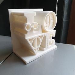love hp.jpg Download STL file Love Harry Potter • 3D printer design, sefelgz