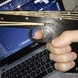 Download free STL Rubber Band Gun, maurireynoso