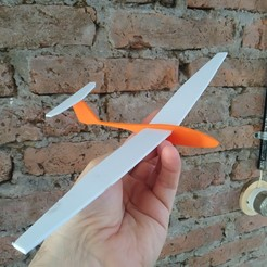 Download free 3D printer templates Glider, maurireynoso
