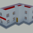 Télécharger fichier STL gratuit Petit appartement et immeuble commercial • Objet pour impression 3D, gaudikudo