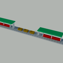 paraderos01.png Download STL file N-scale stops version 2.0 • 3D printer design, gaudikudo