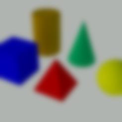 piramide 3D.stl Download free STL file 3D geometric figures for teaching • 3D print design, gaudikudo