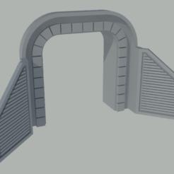 Télécharger fichier STL gratuit Bouche du tunnel à l'échelle N • Modèle imprimable en 3D, gaudikudo