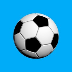 Download free 3DS file Soccer ball • 3D print template, topslanewsmaker1970