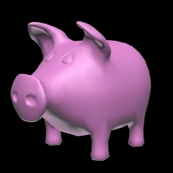 Pink_pig.jpg Télécharger fichier STL 3D_pig • Design imprimable en 3D, topslanewsmaker1970