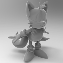 Tails_STL.png Download free STL file Tails • Design to 3D print, mech_case