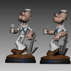 118156777_3539420766091737_6536110841730134650_o.jpg Télécharger fichier STL Popeye • Modèle imprimable en 3D, brunogueredo
