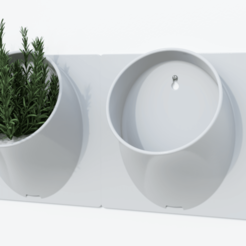 Vertical Module 1.png Download STL file Modular Vertical Garden • 3D printing design, Jaugusto