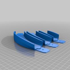 4e281b861da5451e622026e81105fd5a.png Download free STL file Hot Wheel Track 45 deg Turn, 5 deg Bank w/ Improved Joiner (100mm, 150mm, 200mm Radius) • 3D print object, malamaker
