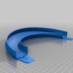 b94dd694316d0f8a3f55b3a3051588b0.png Télécharger fichier STL gratuit Piste de Hot Wheel 180 degrés de virage, 30 degrés d'inclinaison avec menuiserie (réaménagement) • Objet imprimable en 3D, malamaker