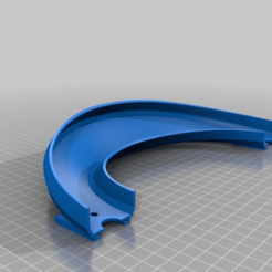 22a284b9ef8e7acceb2cdce80378b114.png Download free STL file Hot Wheel Track 180 deg Turn, 45 deg Bank • 3D printing template, malamaker