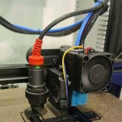 IMG_20201126_105303.jpg Télécharger fichier STL gratuit Creality Ender 3 - E3D v6 Volcano Mount and Fan Adapter • Modèle pour imprimante 3D, malamaker