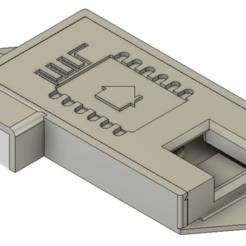 2019-06-22_00_01_01-Autodesk_Fusion_360_Startup_License.png Download free STL file Humidature Sensor Case (D1 mini + DHT11) (espHome) • 3D print model, malamaker