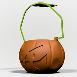 5.jpg Télécharger fichier STL La poignée de bonbons au potiron d'Halloween • Modèle pour impression 3D, nelsonaibarra