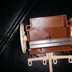 20190617_165148.jpg Download free STL file Playmobil 1988 cannon limber body. • 3D printer template, Thanalas