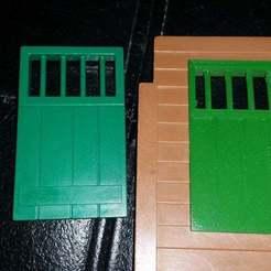 20190529_152200.jpg Télécharger fichier STL gratuit Playmobil 1976 Fenêtre de la prison du bureau du shérif de l'Ouest (3423) • Plan pour imprimante 3D, Thanalas