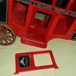 20190627_151331.jpg Download free STL file Playmobil 1976 stage coach door • 3D printable object, Thanalas