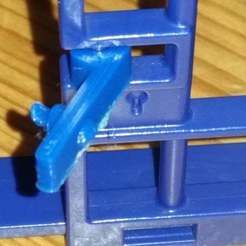 20190807_081618.jpg Télécharger fichier STL gratuit Playmobil System X : serrure de la porte de la prison du commissariat de police • Modèle à imprimer en 3D, Thanalas