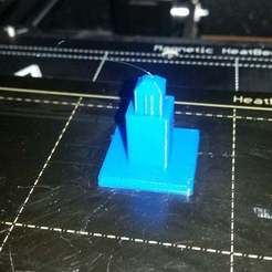Download free 3D printing designs Playmobil table leg, Thanalas