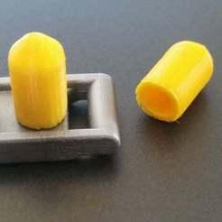 20190605_152000.jpg Download free STL file Playmobil 1976 civil war cannon shell • 3D print template, Thanalas