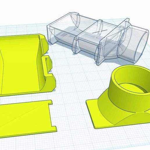 Download free STL file Rockwell BladeRunner RK7320 Vacuum Adapter • 3D print model, sajohnsen1
