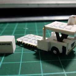 Download 3D printing files Catering truck, Worlwide3d