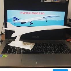Télécharger objet 3D gratuit Stan Airplane Air France, Worlwide3d