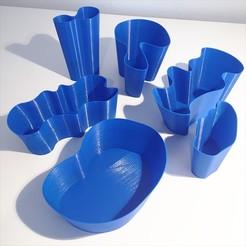 Download 3D printing files MINNEAPOLIS LAKE VASES, evanhall