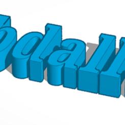 uj.PNG Télécharger fichier STL gratuit Abdallah • Plan pour imprimante 3D, abbodi1ab