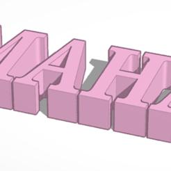 thing.PNG Download free STL file maha • 3D printing design, abbodi1ab