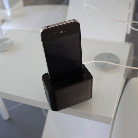 3d printer designs Support de chargement Iphone, toydarien