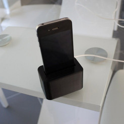 Télécharger fichier impression 3D Support de chargement Iphone, toydarien