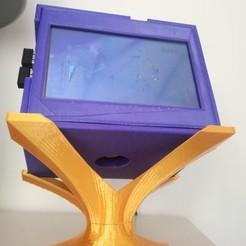 écran 2.jpg Télécharger fichier STL gratuit Ordinateur de salon tactile avec un Raspberry Pi3 et un écran tactile. • Modèle pour imprimante 3D, fabtats