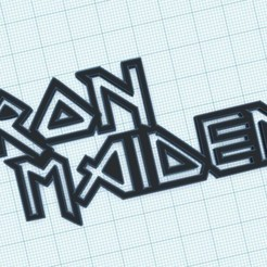 10-10-2020 16.10.24 1.jpg Download STL file iron maiden key ring • Object to 3D print, lafabrika