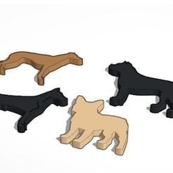 Download 3D printer designs Dog silhouette pack, javitrue
