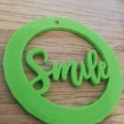 smile.jpg Télécharger fichier STL porte-clés sourire • Objet imprimable en 3D, lafabrika