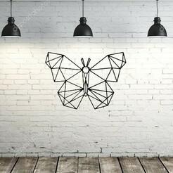 confondo.jpg Download STL file Butterfly Origami • 3D print design, lafabrika