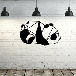 oso.jpg Download STL file painting / origami bear • 3D print object, lafabrika