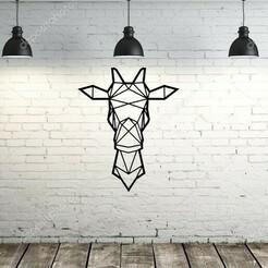giurafacon fondo.jpg Download STL file Origami Giraffe • 3D printer object, lafabrika