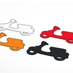 18-11-2020 20.11.32 1.jpg Télécharger fichier STL Porte-clés Vespa • Design pour impression 3D, lafabrika